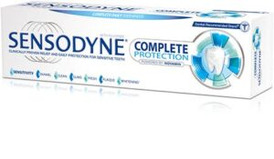 Sensodyne Complete Protection sensitive toothpaste for sensitive teeth