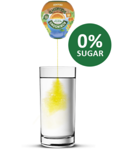 Zero sugar drinks like Robinson's Squash'd 0% sugar are toothkind